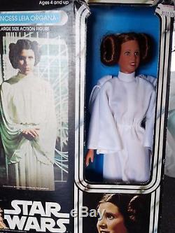 Vintage 1977 Star Wars 12 PRINCESS LEIA ORGANA with Original Box