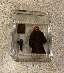 Vintage 1977 Star Wars Lili LedyJawa with removable hoodMéxicocompleteC9+L