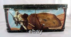 Vintage 1977 Star Wars X-Wing Fighter Metal Lunch Box with Thermos