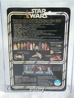 Vintage 1978 KENNER STAR WARS DARTH VADER 12Bk-A AFA 75 (80/75/80) 12A