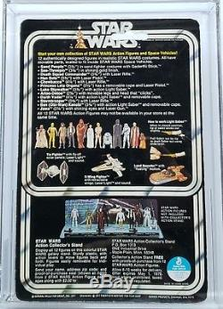 Vintage 1978 Star Wars 12 Back Darth Vader Afa 80+ (80/85/85)! Beautiful Moc