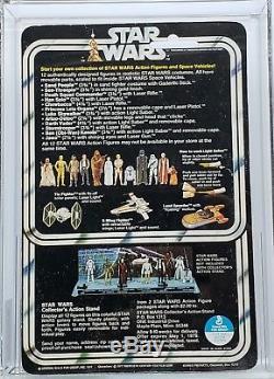 Vintage 1978 Star Wars 12 Back-a Darth Vader Afa 80 (80/75/80)! Just Graded Moc