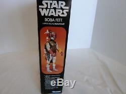 Vintage 1978 Star Wars Boba Fett Large Action Figure 12 In Original Box