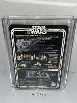 Vintage 1978 Star Wars Darth Vader 12 Back AFA Grade 75+ EX+/NM