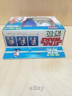 Vintage 1978 Star Wars Takara Missile Firing R2-d2 Wind Up Mib Unused Beautiful