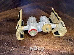 Vintage 1980 Kenner Star Wars Die-cast Tie Bomber Vehicle Rare