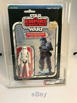 Vintage 1980 Kenner Star Wars Snowtrooper ESB 31-A Back AFA 75 (75,80,85) MOC