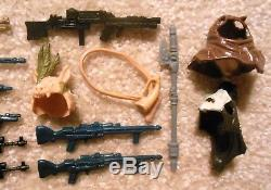 Vintage 1980s Kenner Star Wars Figures Lot of 20x Original WEAPONS & ACCESSORIES