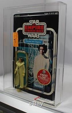 Vintage 1982 Kenner Star Wars Esb 47 Back Princess Leia Organa Afa C80 B80 F80