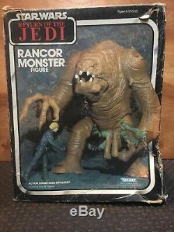 Vintage 1983 Kenner Star Wars ROTJ Rancor Monster Very Nice Piece