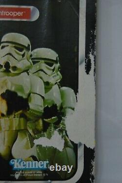Vintage 1983 Star Wars ROTJ Stormtrooper 77 Back MOC