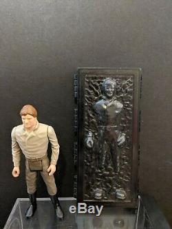 Vintage 1984 Star Wars Han Solo In Carbonite Chamber Last 17 POTF kenner