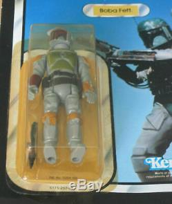 Vintage Boba Fett ROTJ Return of the Jedi MOC action figure RARE AFA worthy