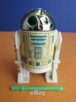 Vintage COMPLETE LAST 17 star wars R2-D2 pop up lightsaber ACTION FIGURE kenner