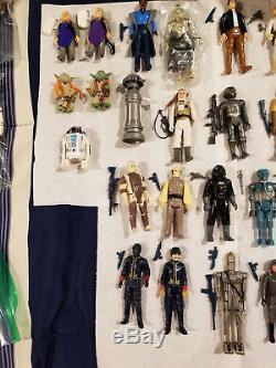 Vintage Complete Star Wars Set Over 100 Figures! Potf Last 17 Included! Mint