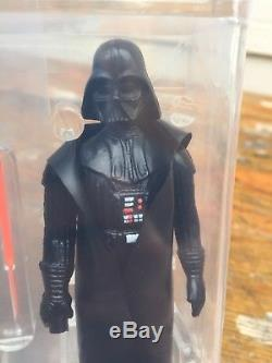Vintage Darth Vader With Double Telescoping Saber AFA 80 With COA