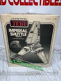 Vintage Imperial Shuttle With Original Box Kenner Star Wars 1984