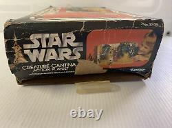 Vintage Kenner STAR WARS Creature Cantina Action Playset BOX ONLY 1979 100% Orig