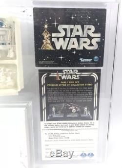Vintage Kenner Star Wars 1978 Early Bird Kit with Double Telescoping Saber AFA