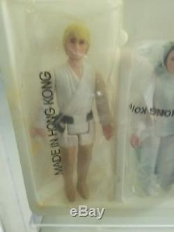 Vintage Kenner Star Wars 1978 Early Bird Kit with Double Telescoping Saber AFA 60