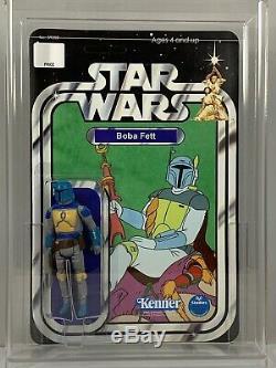 Vintage Kenner Star Wars Custom Action Figure Boba Fett (Holiday Special) MOC