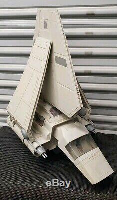 Vintage Kenner Star Wars ROTJ Emperor's Imperial Shuttle Vehicle COMPLETE