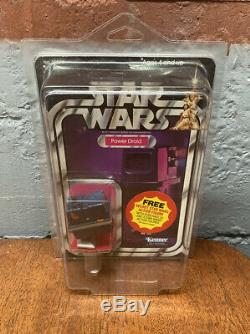 Vintage NOS Star Wars KENNER 1979 POWER DROID ANH 21 BACK MOC UNPUNCHED