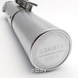 Vintage ORIGINAL Graflex 3 Cell Flash RED Button Luke Skywalker Lightsaber CLEAN