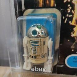 Vintage Original Star Wars Last 17 R2-D2 Pop Up Lightsaber 1977 Original card