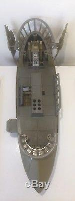 Vintage STAR WARS Vehicle TATOOINE SKIFF 1984 POTF. RARE AS