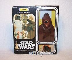 Vintage Star Wars 12 Jawa With Box