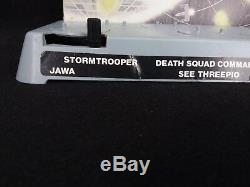 Vintage Star Wars 12 figure Mail Away Action Stand