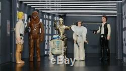 Vintage Star Wars 1977-1979 First 21 Figures! Total 24 Lot with Original Weapons