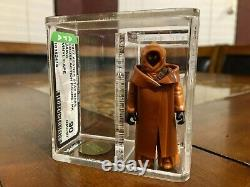 Vintage Star Wars 1977 Kenner Vinyl Cape Jawa Hk Action Figure Afa 90 Nm+/mt Cib