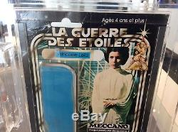 Vintage Star Wars 1978 Meccano Rare 20 Back Leia AFA (Archival)