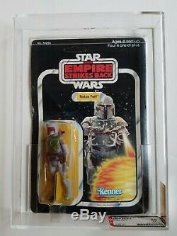 Vintage Star Wars 1980 ESB Canadian Boba Fett MOC AFA 60 (Offerless)