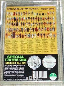 Vintage Star Wars 1985 AFA 85/85/85 LUKE SKYWALKER STORMTROOPER POTF 92 Card MOC
