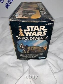Vintage Star Wars ANH 1979 Patrol Dewback & Stormtrooper Vintage Loose Complete