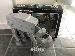 Vintage Star Wars AT AT Walker With Original Box