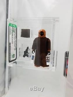 Vintage Star Wars Action Figure Lili Ledy Jawa Removable Hood Stunning AFA80