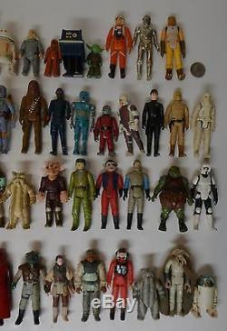 Vintage Star Wars Action Figure Lot FIRST 77 Different Figures 1977 1983 LEIA