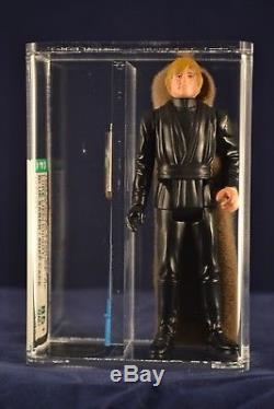 Vintage Star Wars Action Figure Luke Skywalker Jedi Loose AFA 85+ Blue Saber