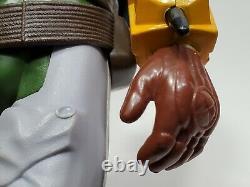 Vintage Star Wars BOBA FETT 12 INCH figure complete original Kenner NICE