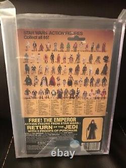 Vintage Star Wars BOBA FETT MOC AFA 70 + ROTJ 65c Back Kenner Sealed 1983