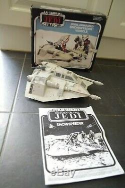 Vintage Star Wars Bilogo Snowspeeder Boxed Instructions Palitoy ROTJ