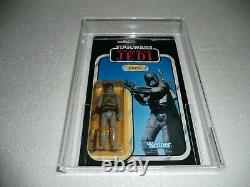 Vintage Star Wars Boba Fett ROTJ PBP MOC (AFA 80)
