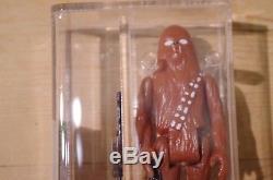 Vintage Star Wars Chewbacca Hungarian Bootleg AFA 85%