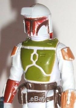 Vintage Star Wars Complete Tri Logo Boba Fett Action Figure 1979