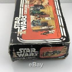 Vintage Star Wars Creature Cantina Action Playset