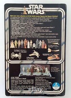 Vintage Star Wars Darth Vader 12 Back C Moc Unpunched Factory Sealed 1977 Carded